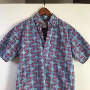 Vintage Reyn Spooner Pullover Hawaii Aloha Shirt